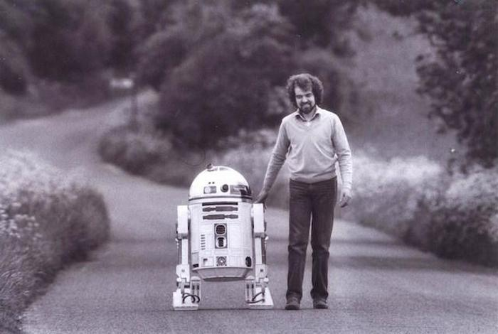 Тони Дайсон и робот R2-D2
