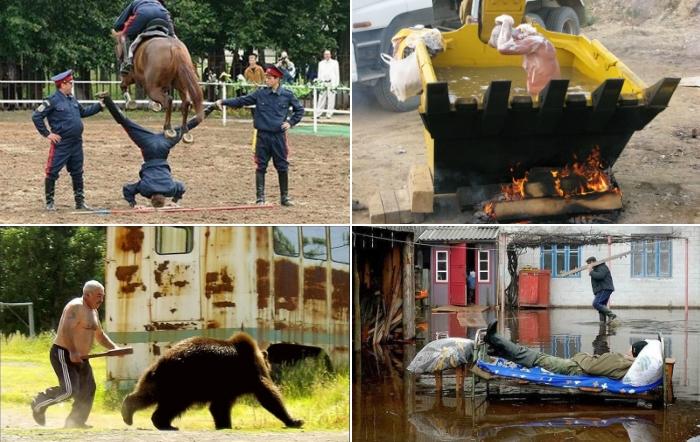 Лучшие фото про особенности русского характера.