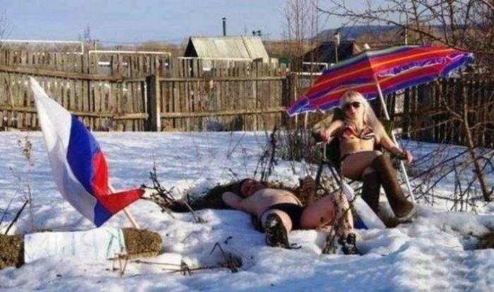 Русским не страшны холода.