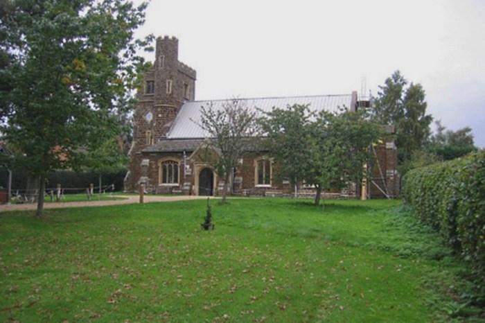 Церковь Пресвятой Девы Марии в Бедфордшире.