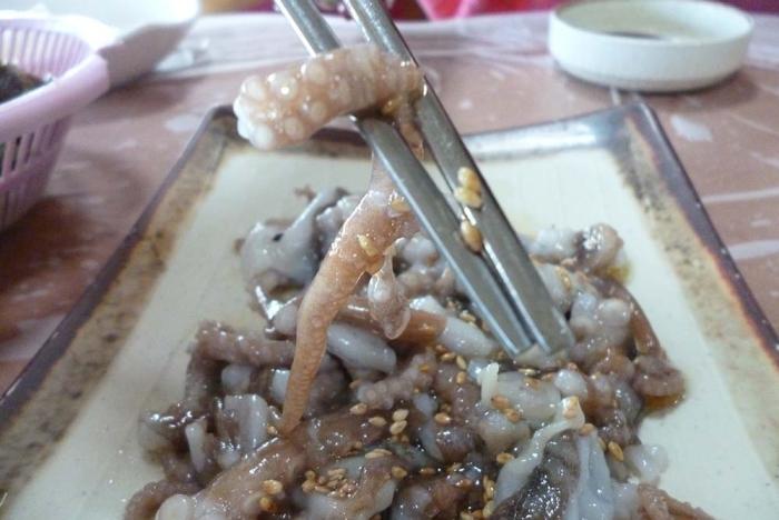 Саннакчи - блюдо, которое может вызвать удушье.