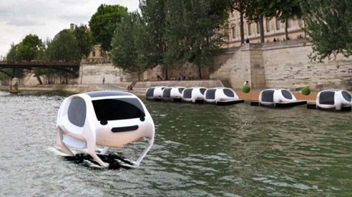 SeaBubbles - пролетая над Парижем!