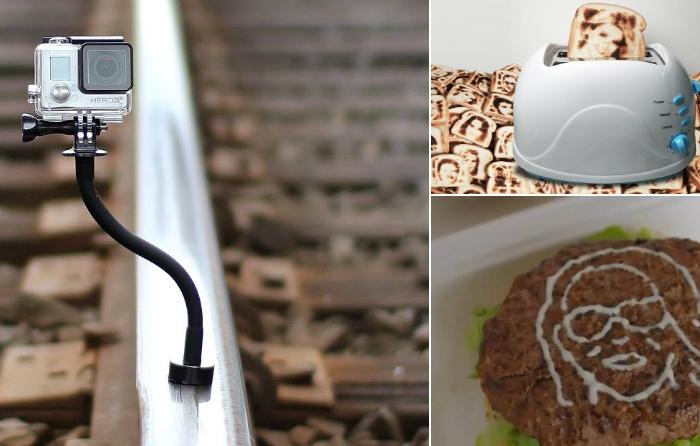 Необычные устройства, которые помогут сделать супер селфи.