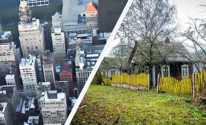 Город или село: где жить?