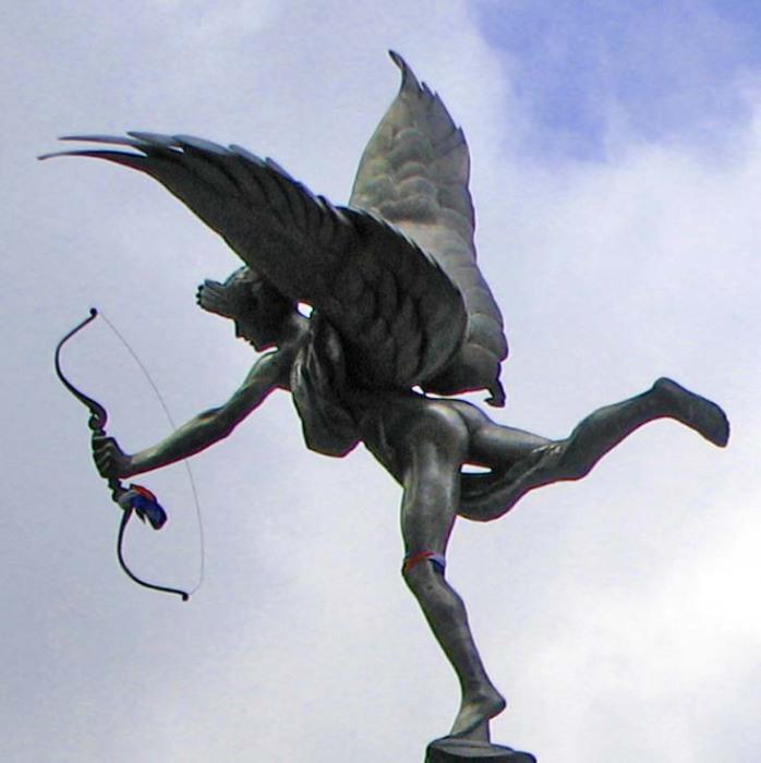 Эрос - бог желания и сексуального влечения.