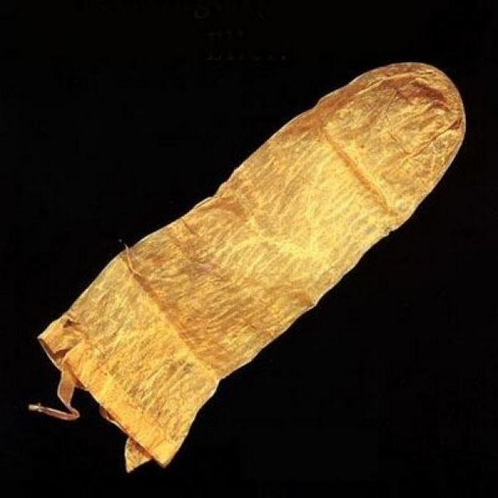 Презерватив.