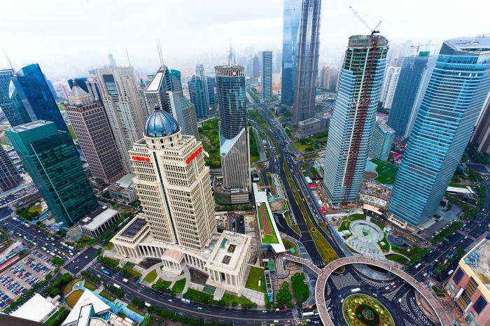 Шанхай - китайский город высоких технологий.