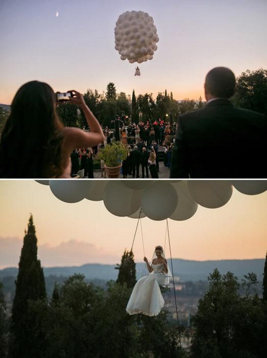 Летающая невеста.
