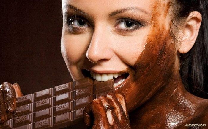 Шоколад как рецепт счастья.