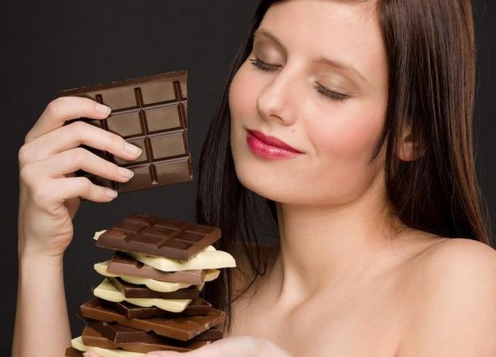 Шоколад как средство от нервов.