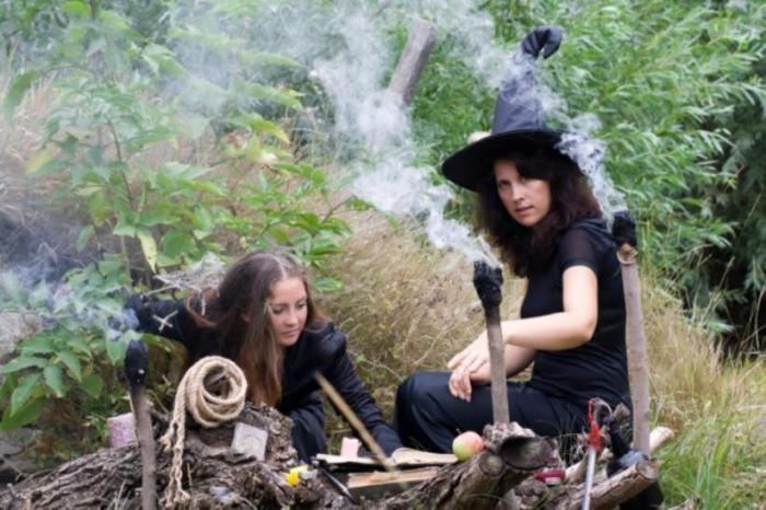 Школа ведьм.