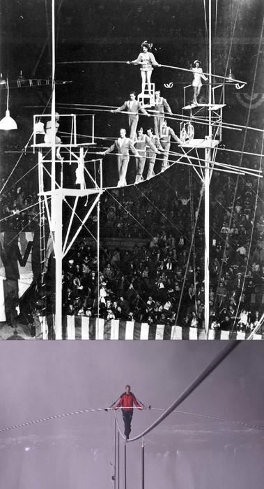 Семейная цирковая труппа.