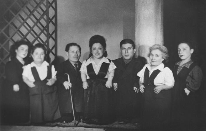 Семья артистов, пережившая Освенцим.