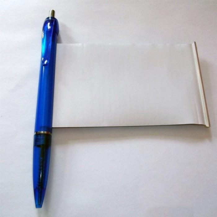 Ручка-шпаргалка.