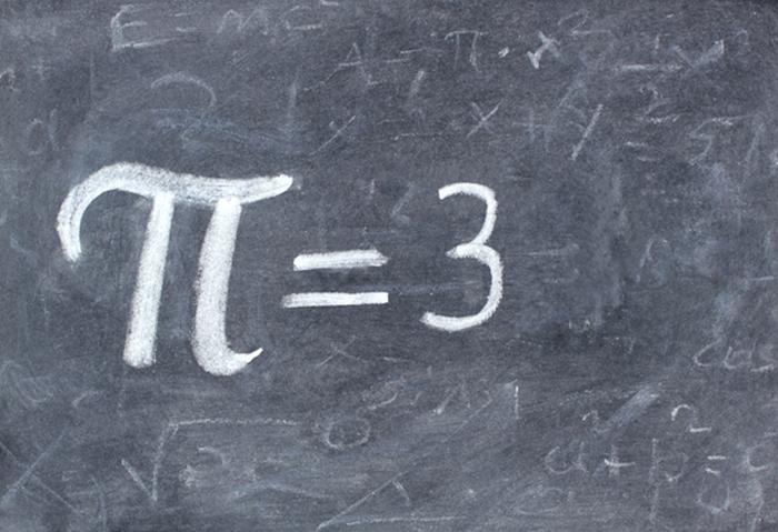 Значение числа Пи.