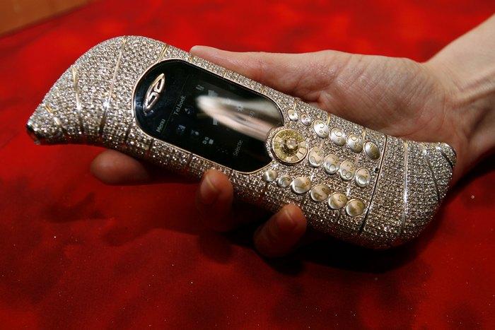 Самые роскошные мобильные телефоны.