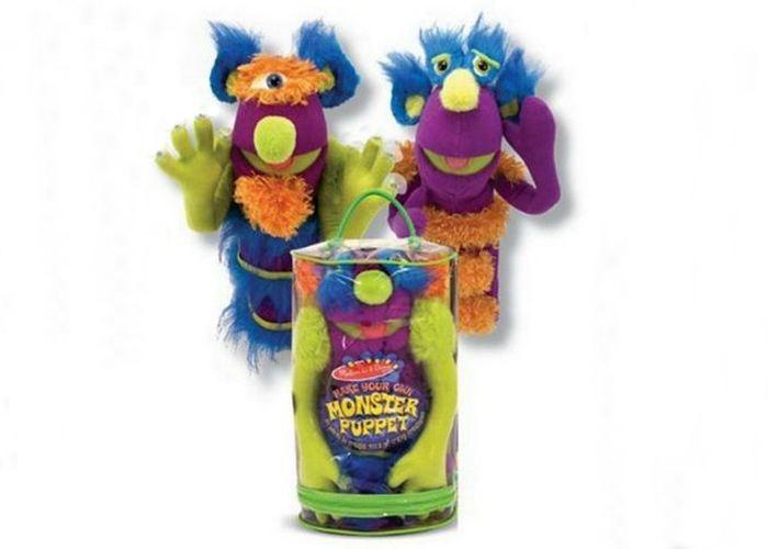 Простой набор для создания кукольных монстров Мелисса и Даг.