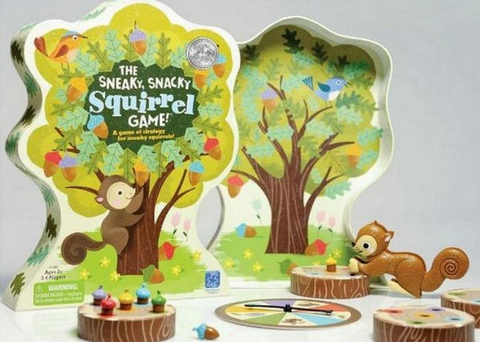 Простая игра: Sneaky Snacky Squirrel Game.