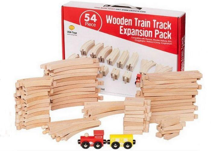 Простой деревянный набор для удлинения путей.