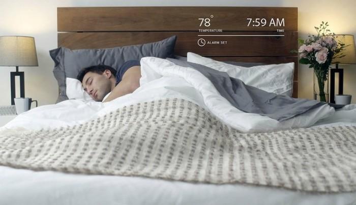 Умный 25-сантиметровый матрас с контролем сна и температуры.