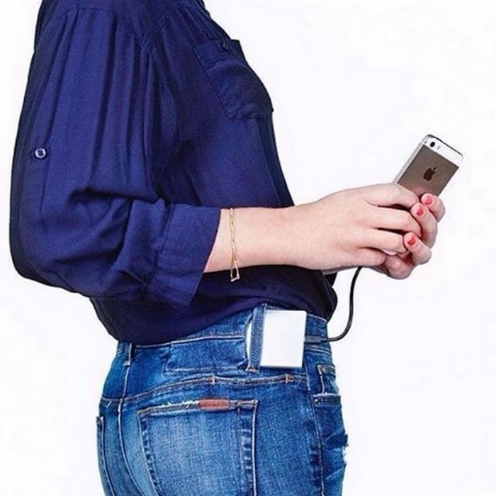 «Заряженные» джинсы от Joe's Jeans.