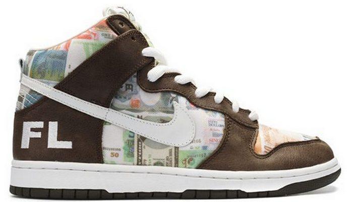 Кроссовки Nike Dunk High Pro SB Flom.