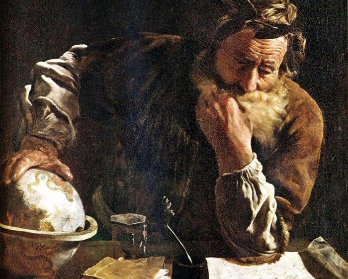 Архимед. Картина Доменико Фетти.