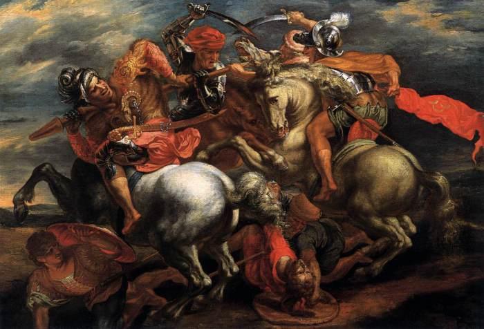Битва при Ангиари.