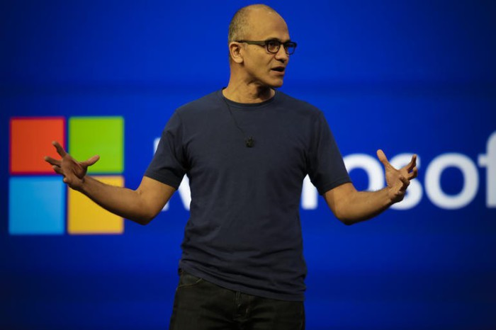 Сотрудники Microsoft.