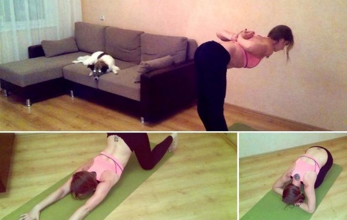Несложные упражнения, которые помогут привести в порядок лопатки и шею.
