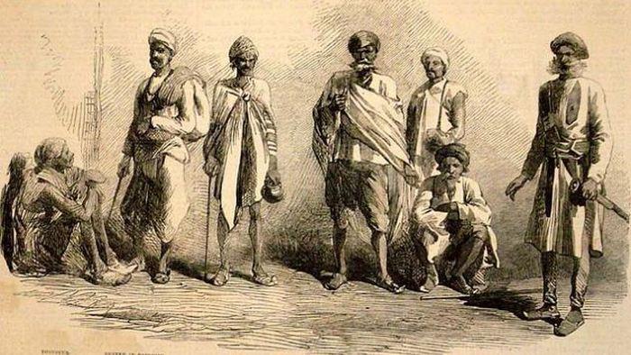 Туги — поклонники богини Кали