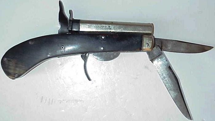 Пистолет-нож.