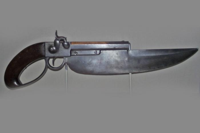 Пистолет-кортик.