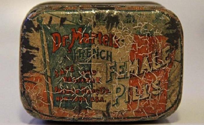 Французские женские таблетки д-ра Джонсона.