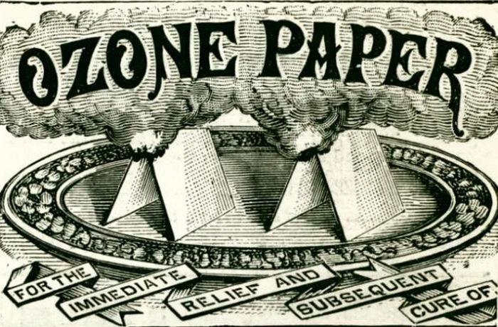 Озоновая бумага.