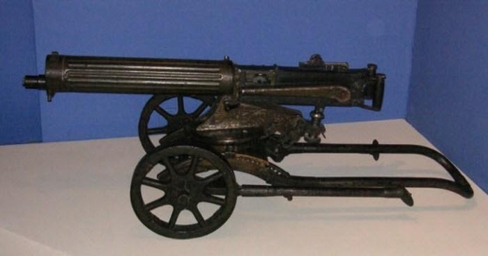 Пулемет Vickers - оружие Второй мировой.