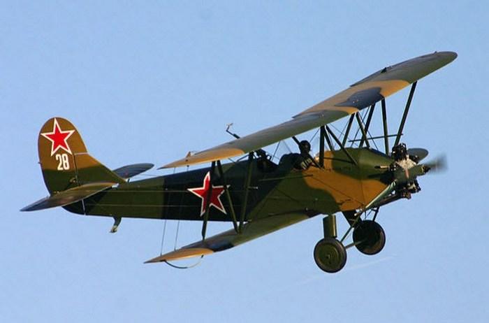 Поликарпов У-2.