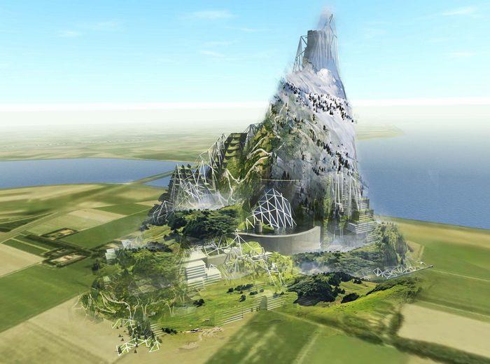 Искусственная гора в Нидерландах и другие амбициозные проекты.