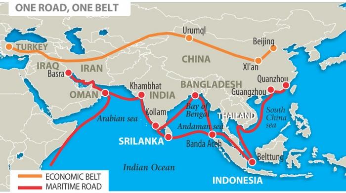 Китайский новый Шелковый путь