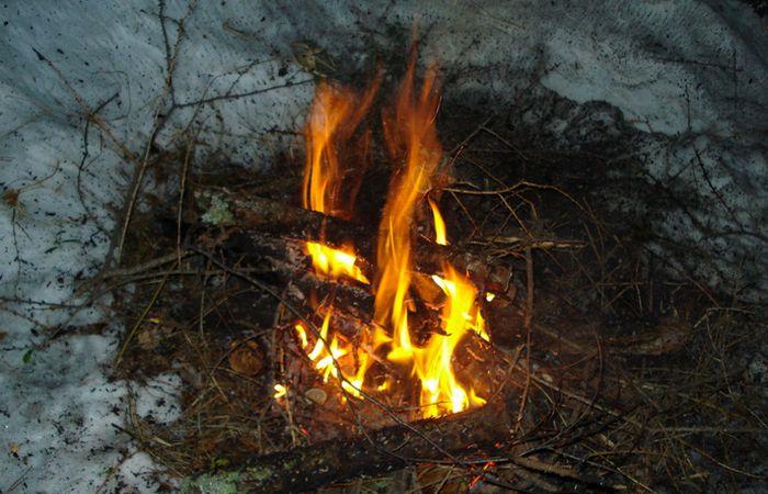 Приказано выжить!: оставайся в тепле.