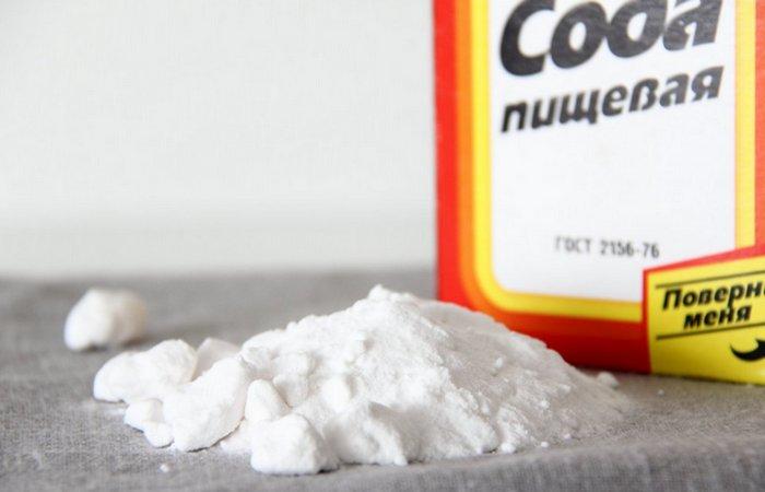 Приказано выжить!: используй пищевую соду.