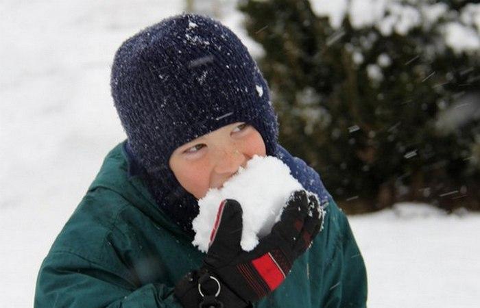 Приказано выжить!: не ешь снег.