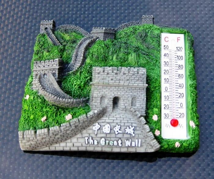 Термометр с Великой китайской стеной.