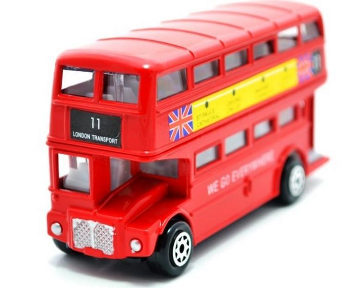 Модель двухэтажного автобуса.