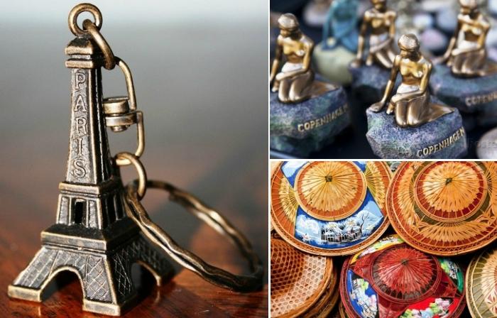 Самые популярные сувениры.