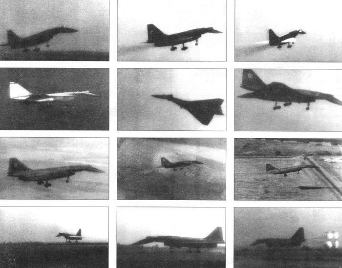 Фото с испытаний Т-4.