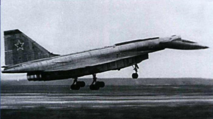 T-4 в момент посадки.