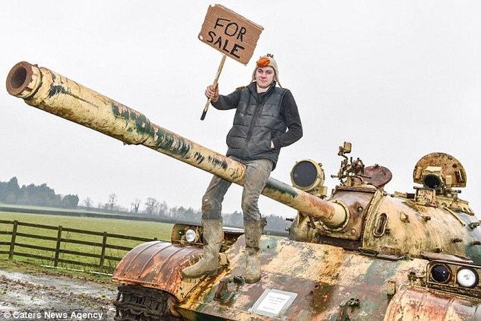 Танк Т-54 китайского производства продали на eBay.
