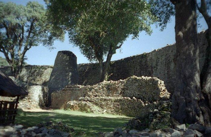 Крупнейшие африканские руины.