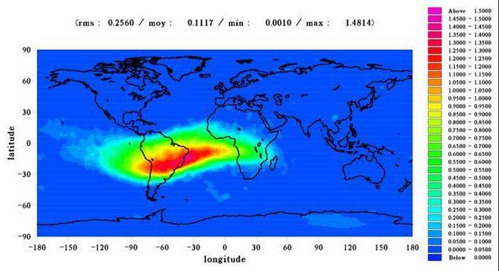 Внеземная Бразильская магнитная аномалия.